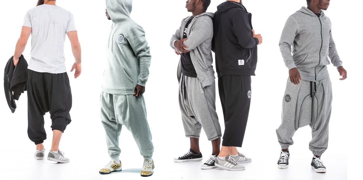 Sarouel dianoux dcjeans sport jogging survêtement pantalon.