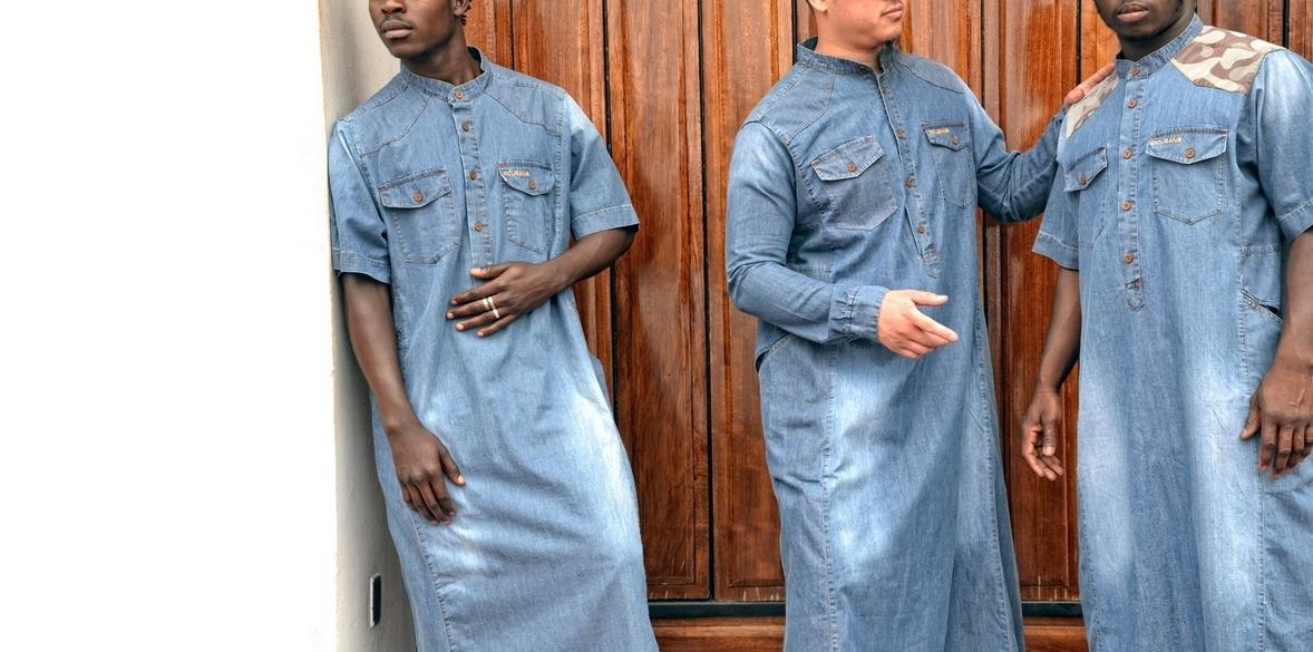 Qamis sarouel dcjeans dianoux jeans.