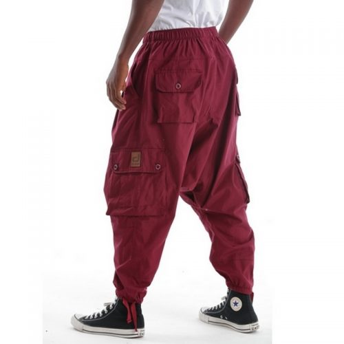 Battle bordeau pantalon