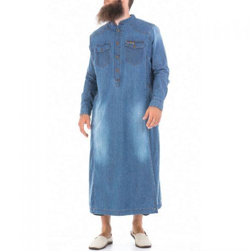 qamis dcjeans jeans manche longue