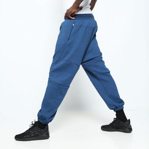 pantalon usualfit jogging bleu
