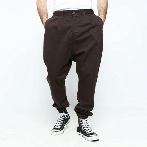 pantalon marron ville usual fit