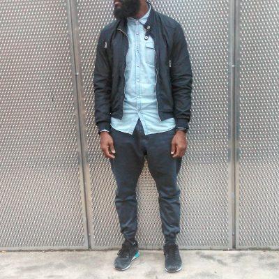 Pantalon gris usual fit