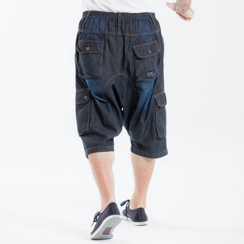 saroual dcjeans jeans battle short blue
