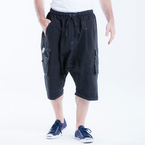 saroual dcjeans short battle noir