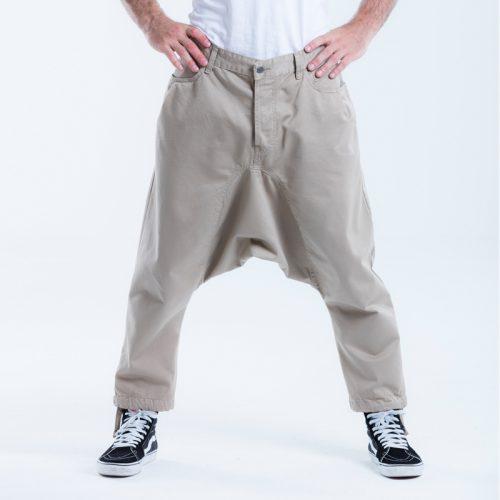 saroual jeans beige dcjeans pantalon