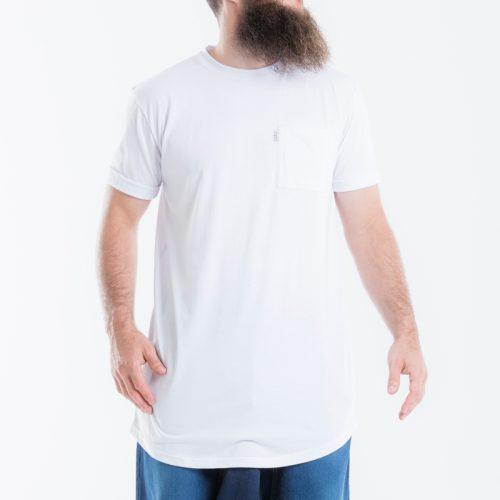 tshirt dcjeans oversize manche courte blanc