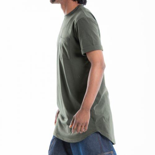 tshirt dcjeans oversize manche courte kaki
