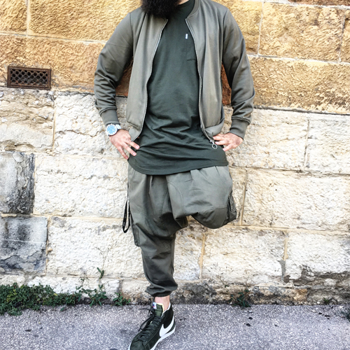 Saroual Battle Pantalon Kaki