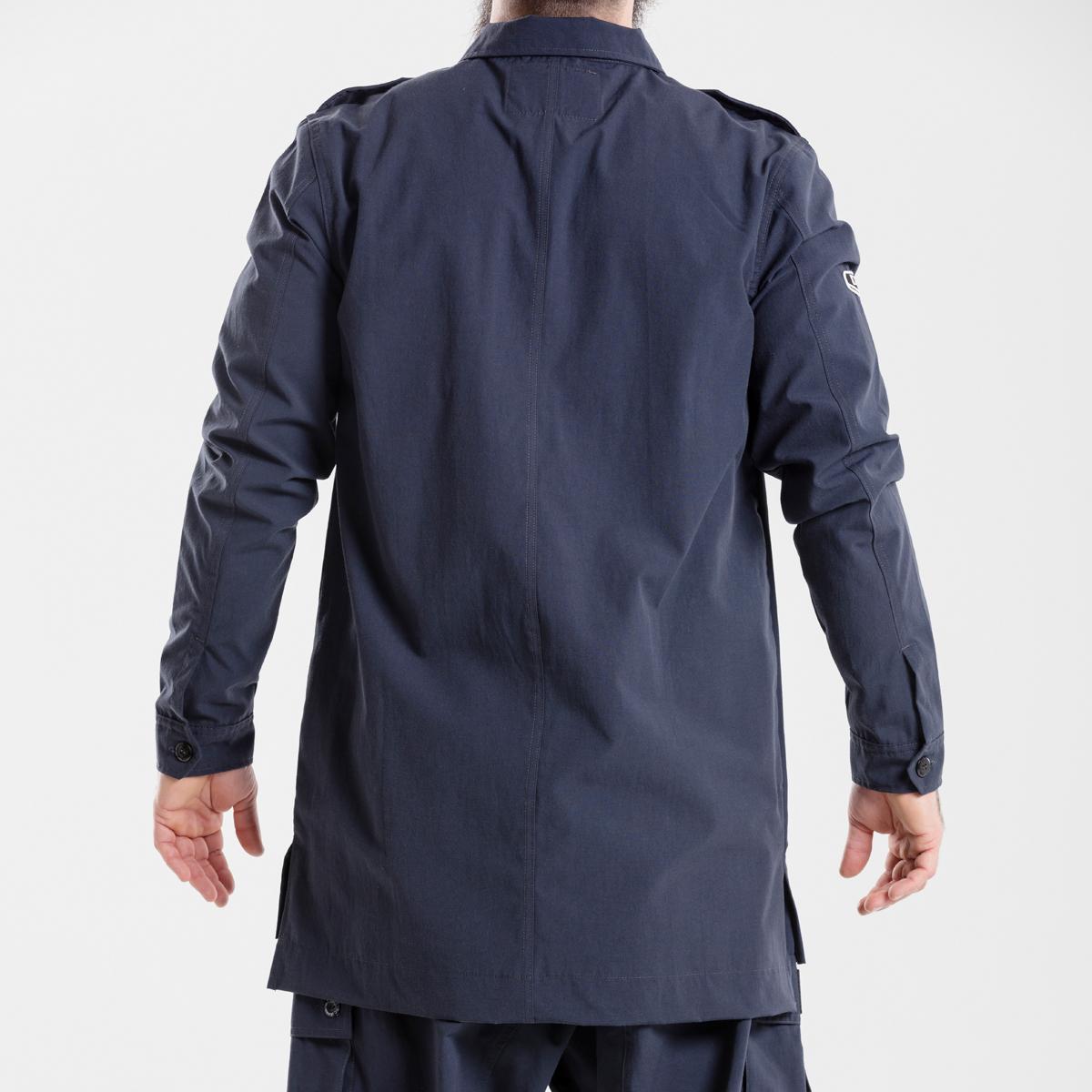 chemise veste oversize marine dcjeans manche longue dos