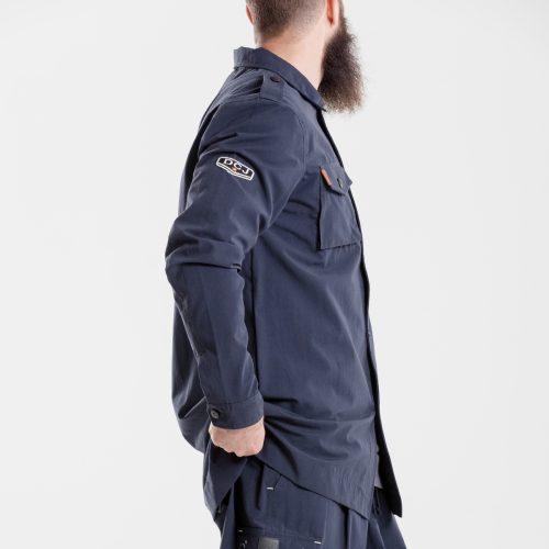 chemise veste oversize marine dcjeans manche longue profil