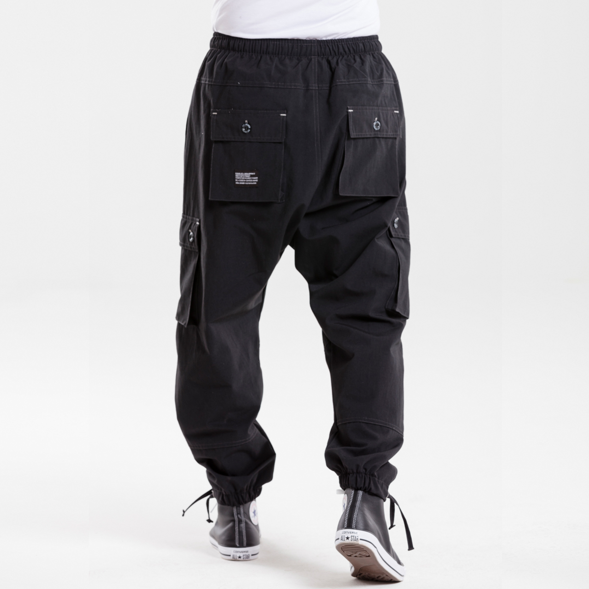 pantalon battle usual noir dcjeans dos