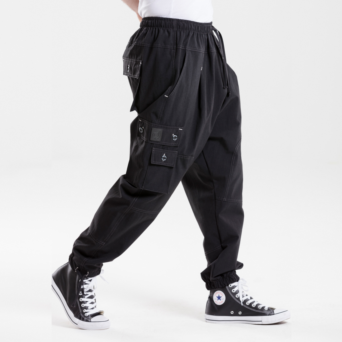 Pantalon Battle NOIR usual fit - DCJeans ® - sarouel   clothing ... 0d353884af6
