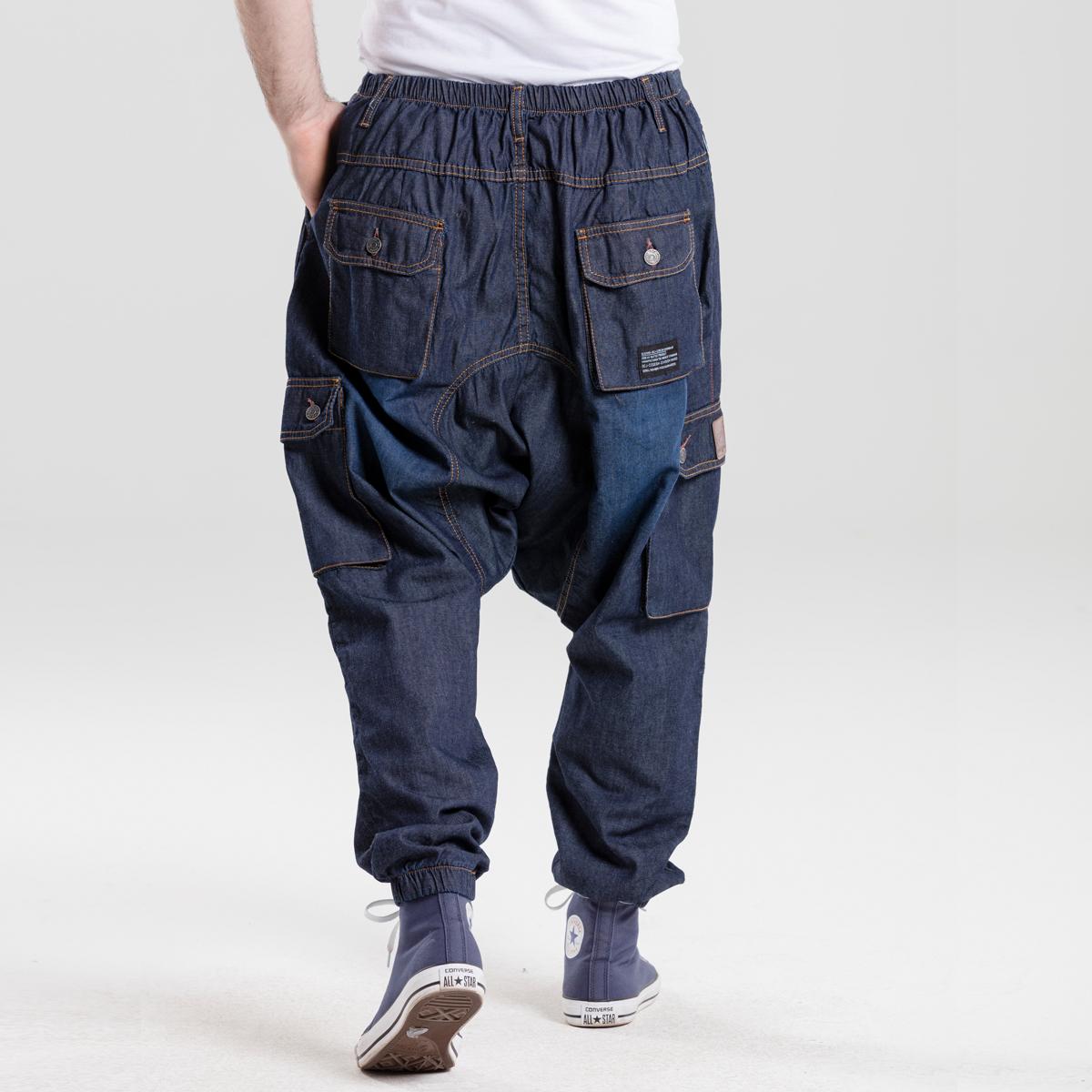 saroual battle evo jeans blue dcjeans dos