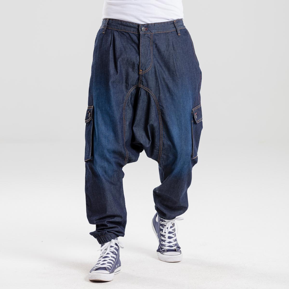saroual battle evo jeans blue dcjeans face