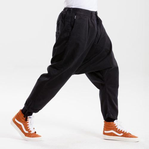saroual jeans evo noir dcjeans profil