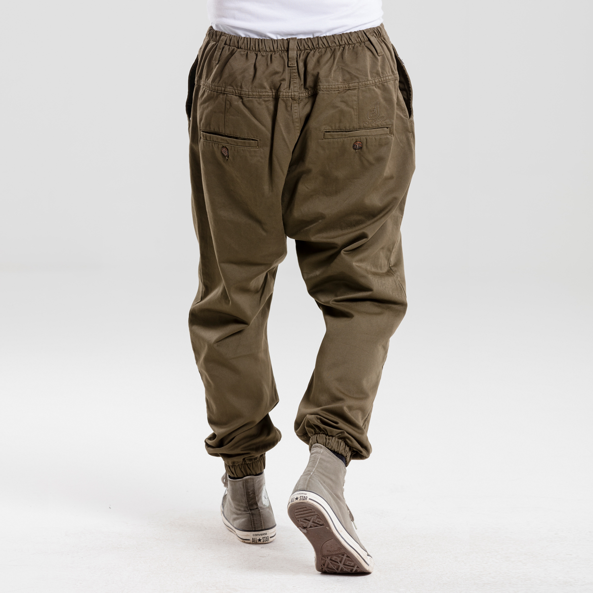 saroual jeans usual kaki dcjeans dos