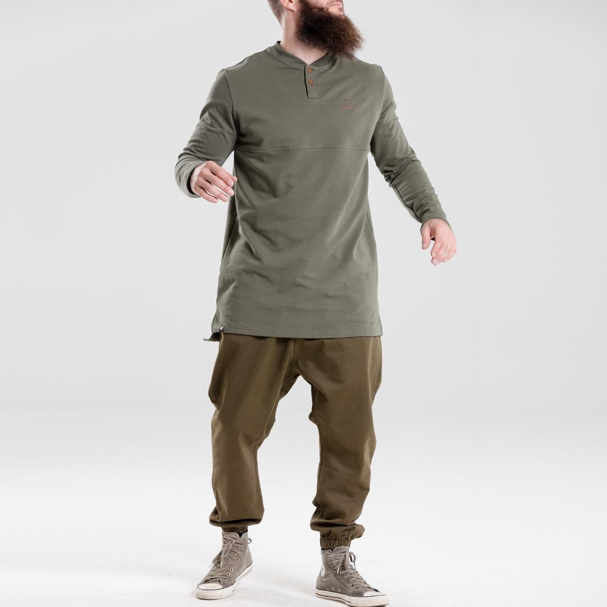 saroual jeans usual kaki dcjeans ensemble face