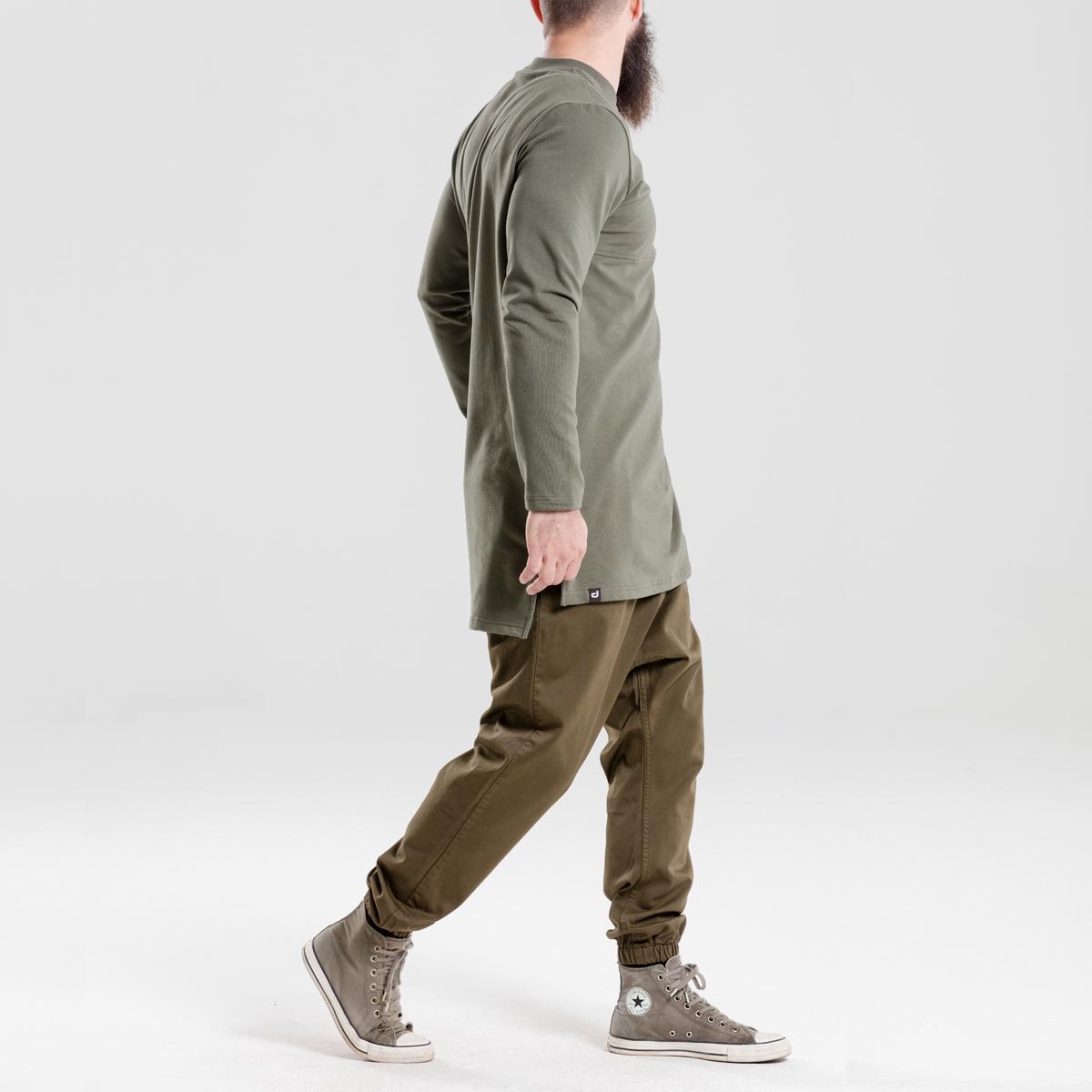 saroual jeans usual kaki dcjeans ensemble profil