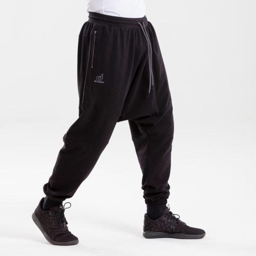 saroual jogging evo noir dcjeans profil