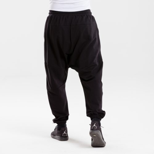 saroual jogging usual noir dcjeans dos