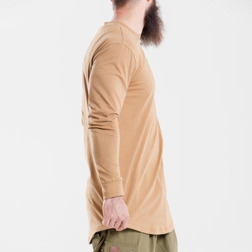 tshirt oversize kamel dcjeans manche longue profil