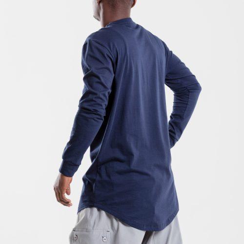 tshirt oversize marine dcjeans manche longue profil