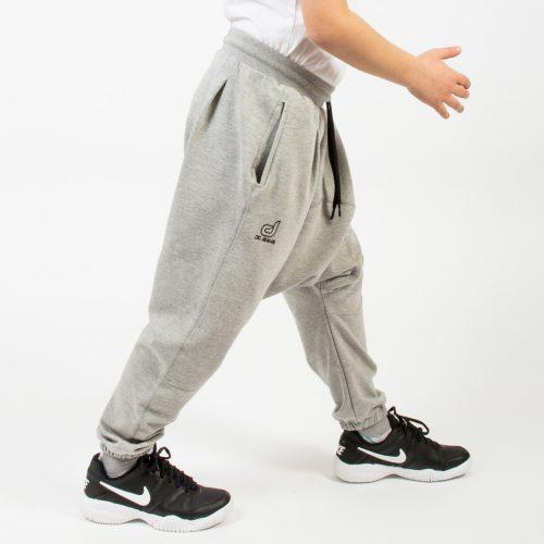 saroual jogging gris enfant profil bis