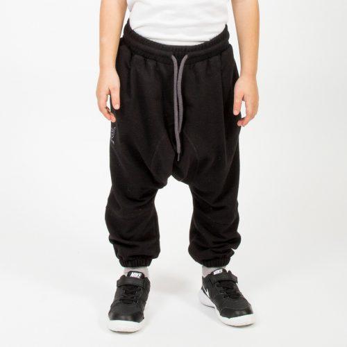 saroual jogging noir enfant face