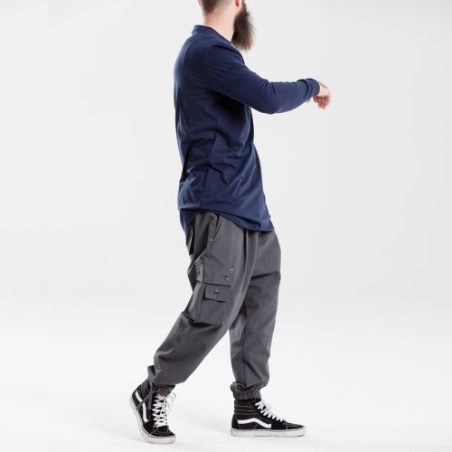 pantalon battle usual anthracite dcjeans ensemble profil