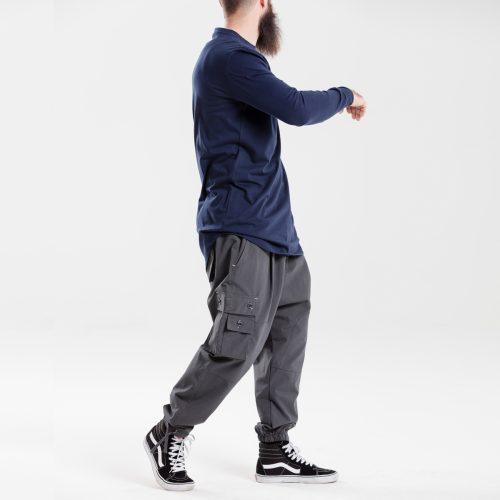 pantalon battle usual anthracite dcjeans ensemble profil