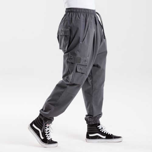 pantalon battle usual anthracite dcjeans profil