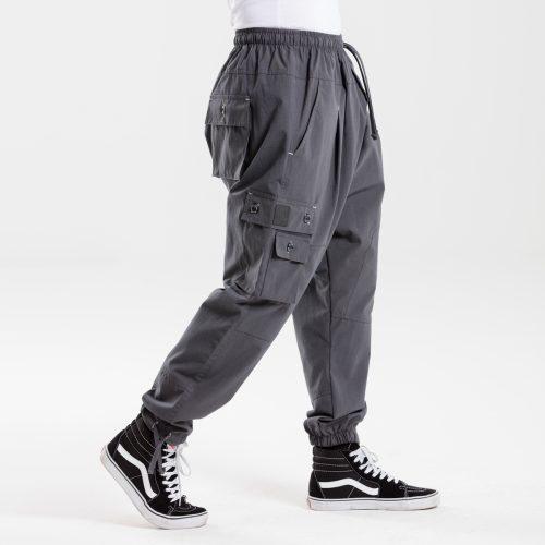 pantalon battle usual anthracite dcjeans profil