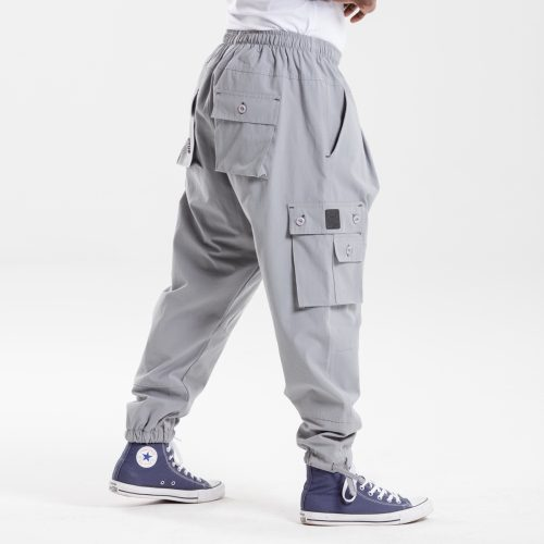 pantalon battle usual gris dcjeans profil