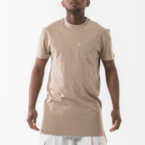 tshirt manche courte beige face dcjeans