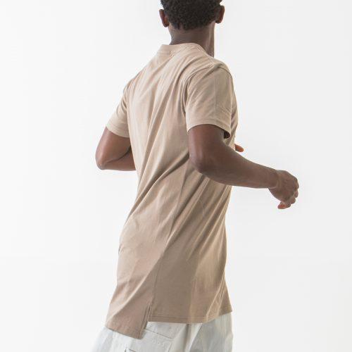 tshirt manche courte beige profil dcjeans