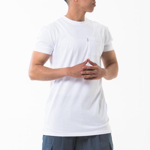 tshirt manche courte blanc face dcjeans