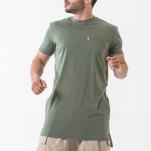 tshirt manche courte kaki face dcjeans