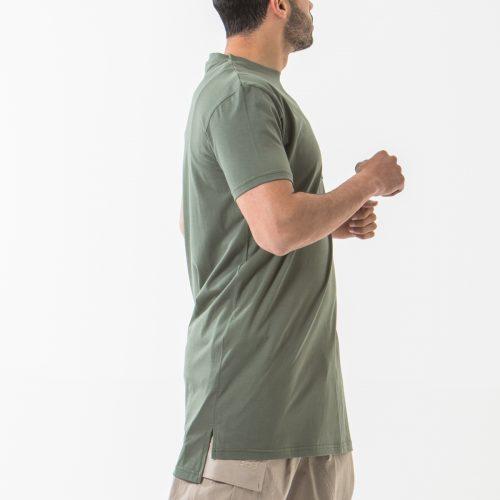 tshirt manche courte kaki profil dcjeans