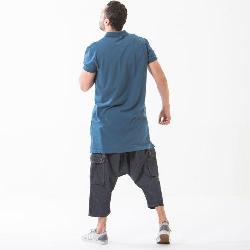 saroual jeans battle blue complet dos dcjeans
