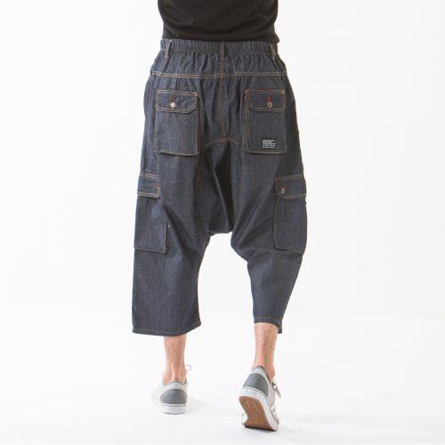 saroual jeans battle blue dos dcjeans