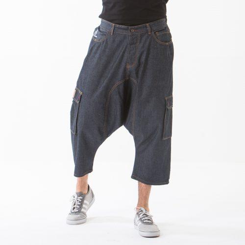 saroual jeans battle blue face dcjeans
