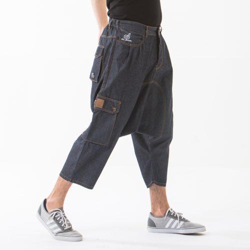 saroual jeans battle blue profil dcjeans