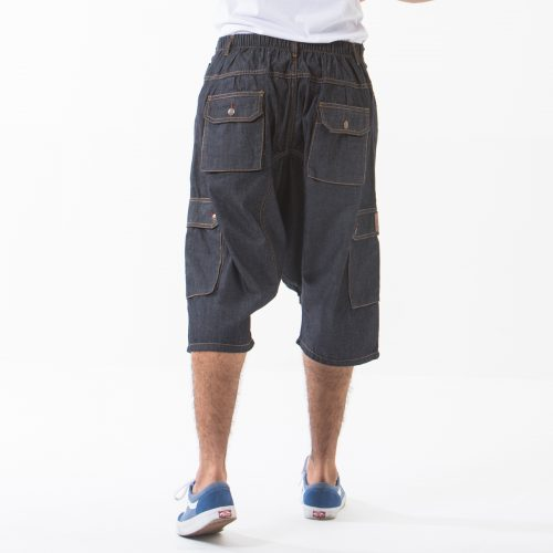 saroual short battle blue dos dcjeans