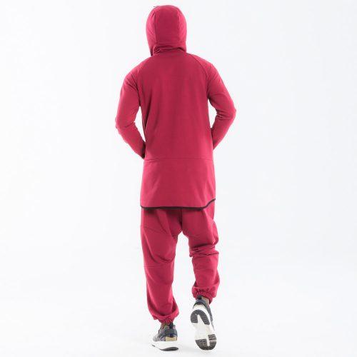pantalon dcjeans jogging bordeau complet