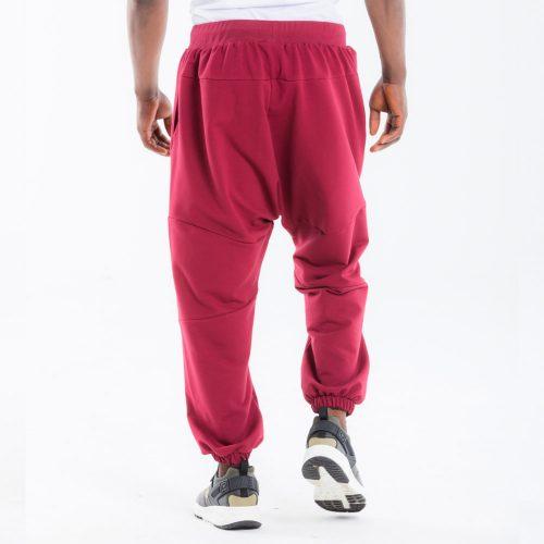 pantalon dcjeans jogging bordeau dos