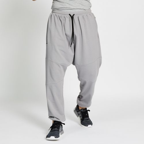 pantalon jogging long gris face