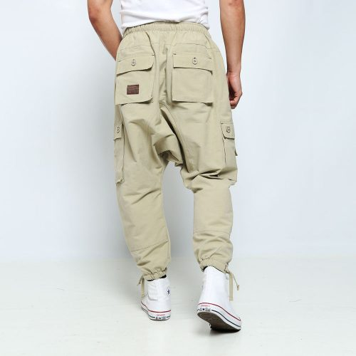 saroual battle long beige dos