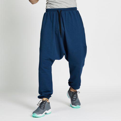 saroual jogging long bleu face