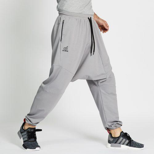 saroual jogging long gris profil